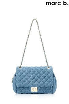 Marc B Summer Denim Quilted Cross Body