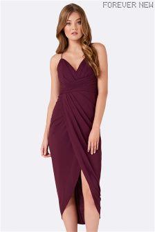 Drapowana sukienka maxi Forever New