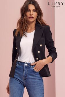 Lipsy Military Tailored Button Blazer