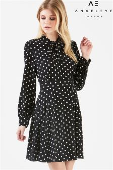 Angeleye Polka Dot Dress