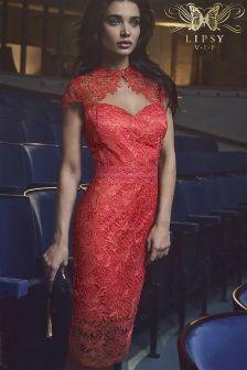 Lipsy VIP Sweetheart Neck Midi Dress