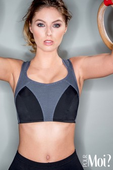 Pour Moi Energy Non Wired Full Cup Sports Bra DD+
