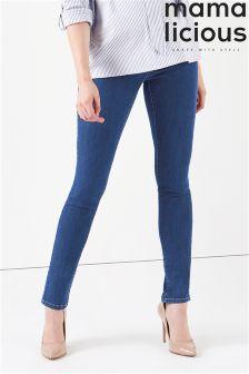 Mamalicious Maternity Denim Jeans