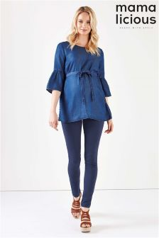 Mamalicous Maternity Over The Bump Jeans