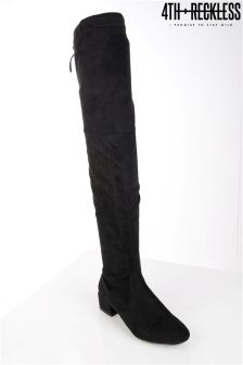4th & Reckless Faux Suede Over The Knee Boot