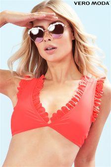 Vero Moda Ruffle Bikini Top