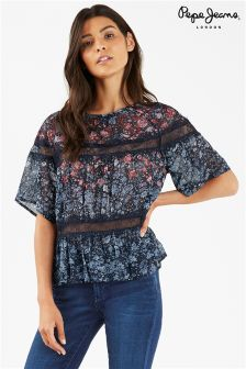 Pepe Jeans Floral Blouse