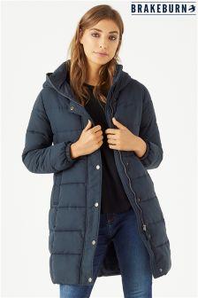 Длинное утепленное пальто Brakeburn