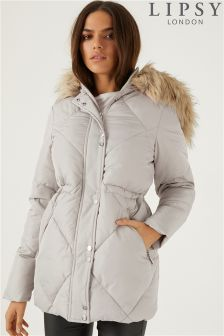Lipsy Diamond Quilted Jacket