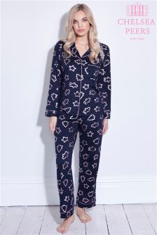 Chelsea Peers Cookie Foil Print Pyjama Set