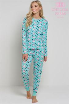 Пижамный комплект с летающими свинками Chelsea Peers