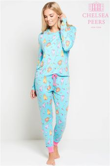 Chelsea Peers Birthday Cat Pyjama Set