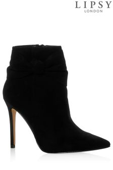 Lipsy Bow Detail Ankle Boots
