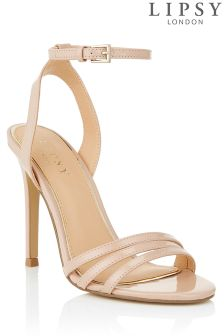 Lipsy Three Strap Barely There Sandals