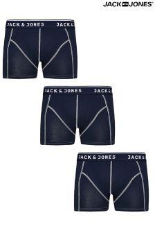 Jack & Jones Bristol Trunks Pack Of 3