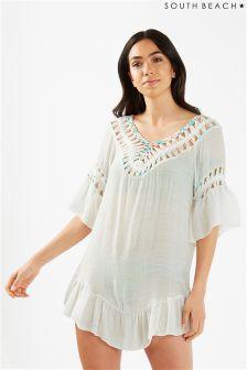 South Beach Tassel Beach Dress