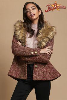 Joe Browns Faux Fur Collar Coat