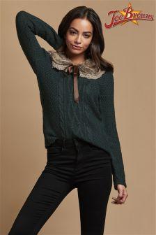 Joe Browns Faux Fur Collar Sweater