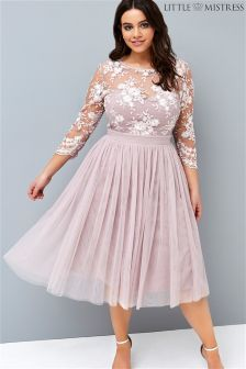 Little Mistress Curve Embroidery Prom Dress