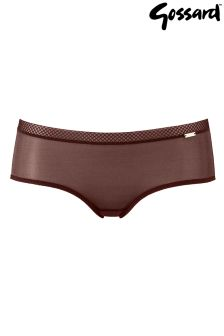 Gossard Glossies Sheer Short Briefs