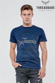Koszulka Threadbare z nadrukiem