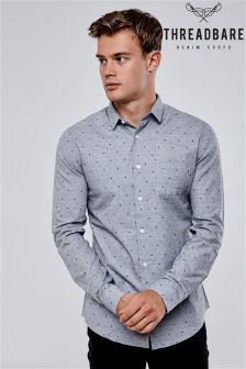 Koszula Threadbare z długim rękawem i nadrukiem
