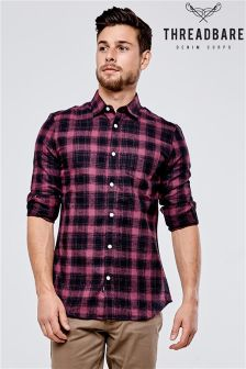 Threadbare Brushed Flannel Check Shirt