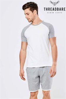 Kontrastowa pidżama Threadbare w zestawie