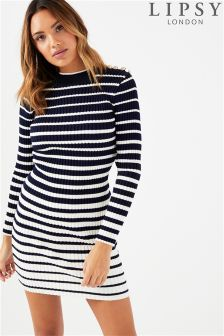 Lipsy Military Stripe Dress