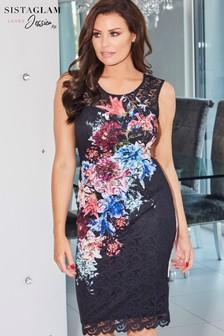 Jessica Wright Floral Print Midi Dress