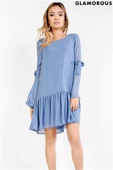 Glamorous Drop Hem Dress