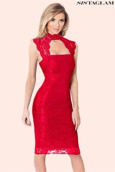 Sistaglam Lace Bodycon Dress