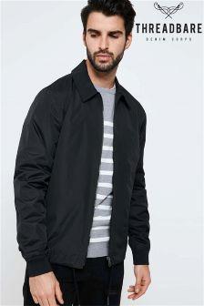 Threadbare Lightweight Jacket With Zip Pocket To Sleeves