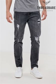 Threadbare Rip And Repair Jeans
