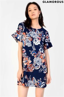 Glamorous Petite Printed Shift Dress