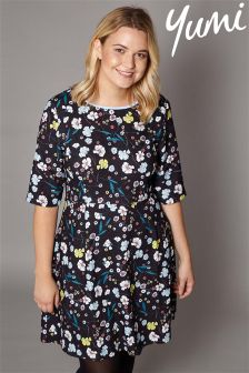 Yumi Curve Floral Dress