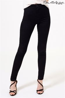 Miss Selfridge Super High Waist Steffi Skinny Jeans