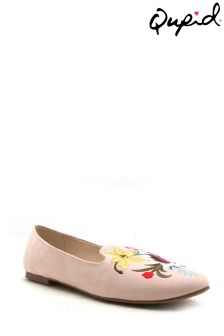 Qupid Embroidered Pumps