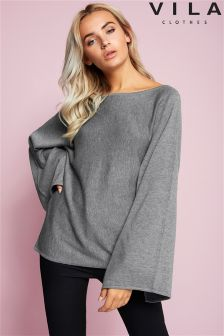 Vila Flared Sleeve Jumper