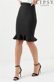 Lipsy Peplum Bandage Skirt