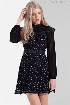 Urban Bliss Polka Dot Dress
