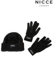 NICCE Men's Black Gift Set