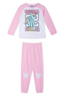 Missimo Girls My Little Pony Relaxed Fit PJ Set
