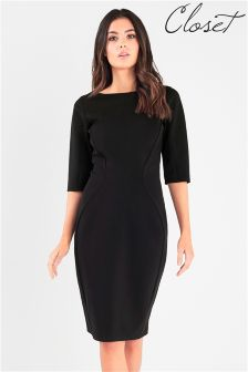 Closet Panel Bodycon Dress
