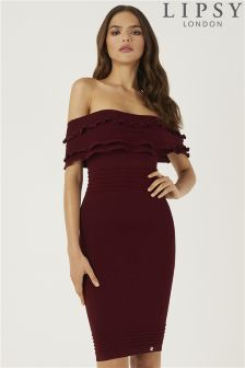 Lipsy Ruffle Dress