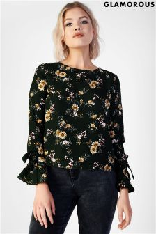 Glamorous Floral Top