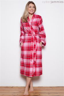 Cyberjammies Check Dressing Gown Robe
