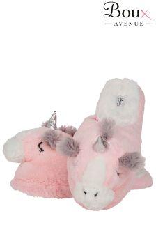 Boux Avenue Unicorn Mule Slippers