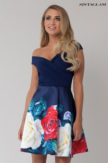 Sistaglam Zilda Bardot Prom Dress