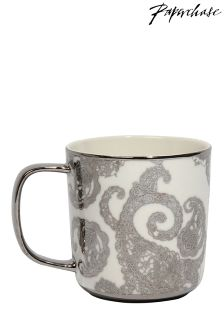 Paperchase Ceramic Mug Bloom Noir